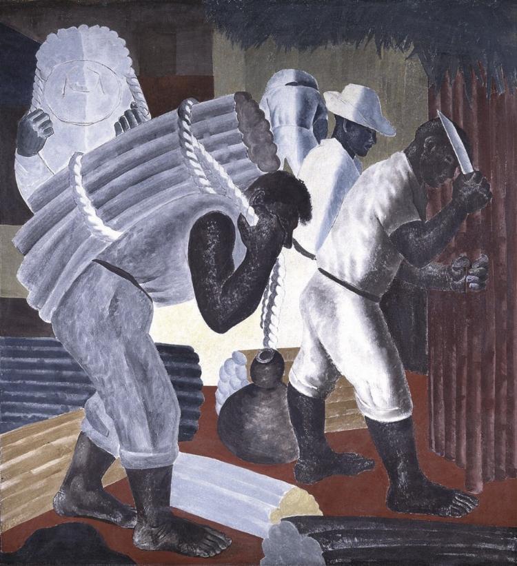 15 -  'Cana de Açúcar'  (1938), Cândido Portinari