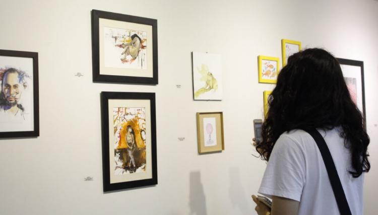 Exposição com trabalhos de 22 artistas está em cartaz na Galeria Lavandeira