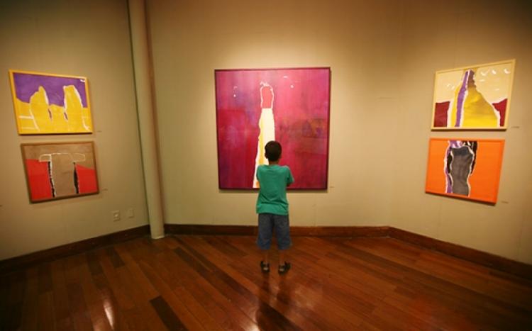A artista Raimunda Fortes está celebrando 20 anos de carreira com essa mostra