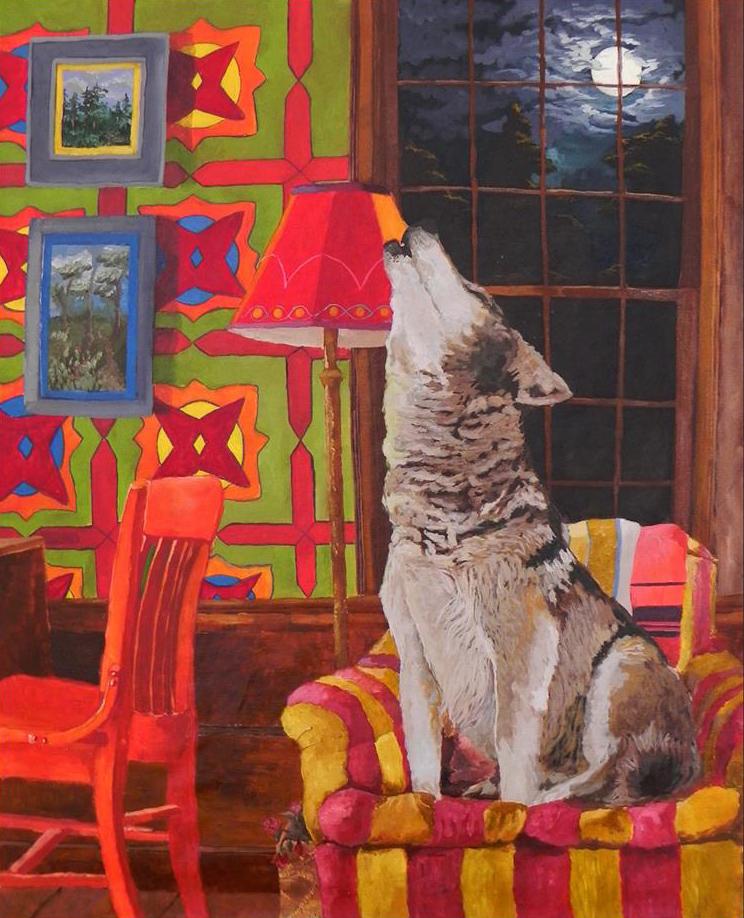 Obras de Artur Rios, que colocam os animais em situações tipicamente humanas