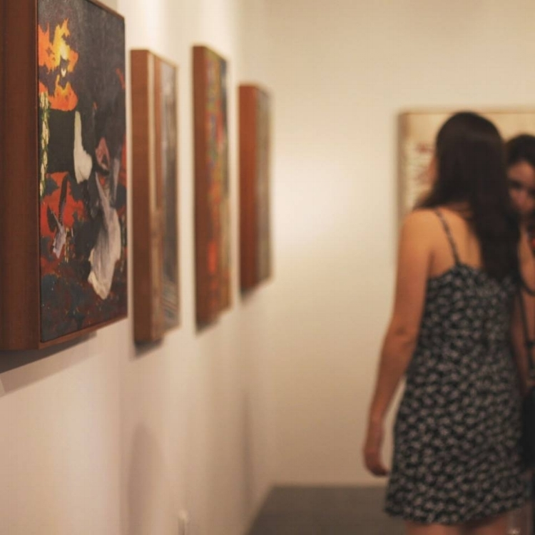 As duas exposições estão em cartaz ao mesmo tempo no Sobrado, no Jóquei