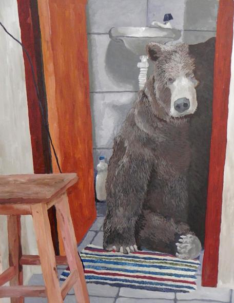 Obra de Artur Rios presente na exposição