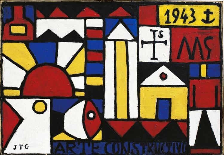 2 - Torres García fundou o universalismo construtivo e desenvolveu sua obra com base nesse conceito
