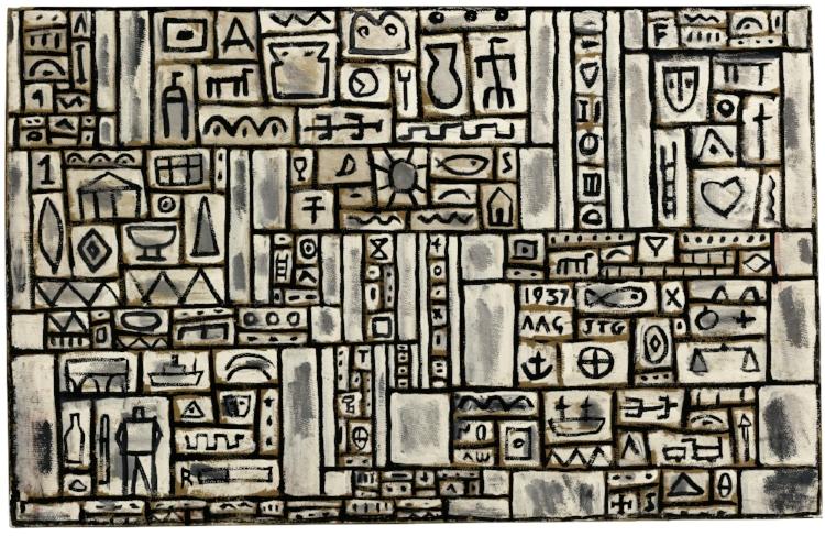 12 - É a presença dos signos na pintura que vai garantir o sentido da obra e não a representação de uma cena da 'ralidade'