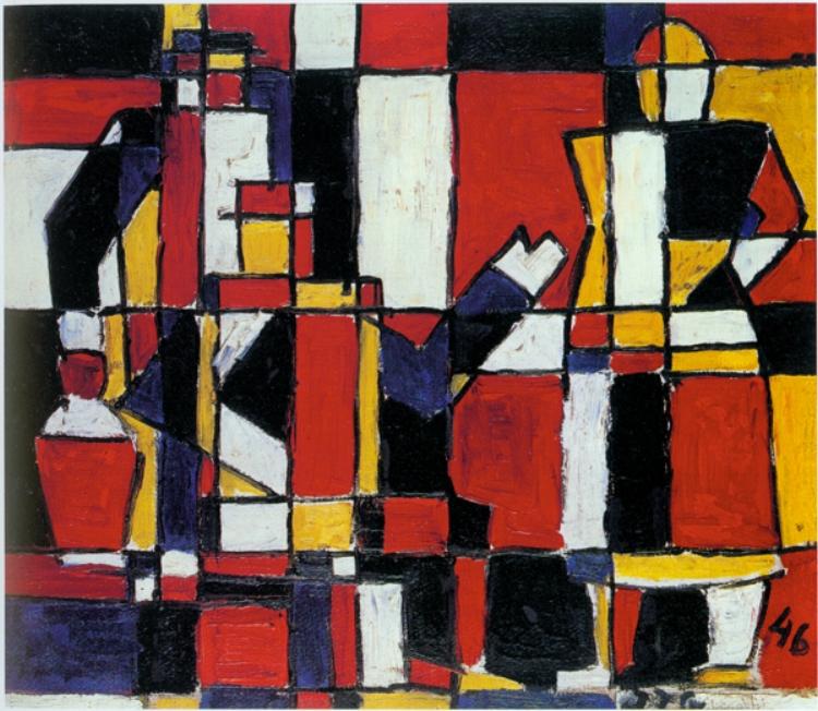 18 - O artista sempre buscou a dimensão simbólica das formas mais básicas