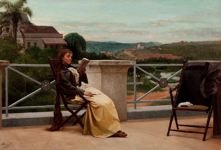'Leitura'  (1892)