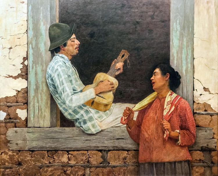 'O Violeiro'  (1899)