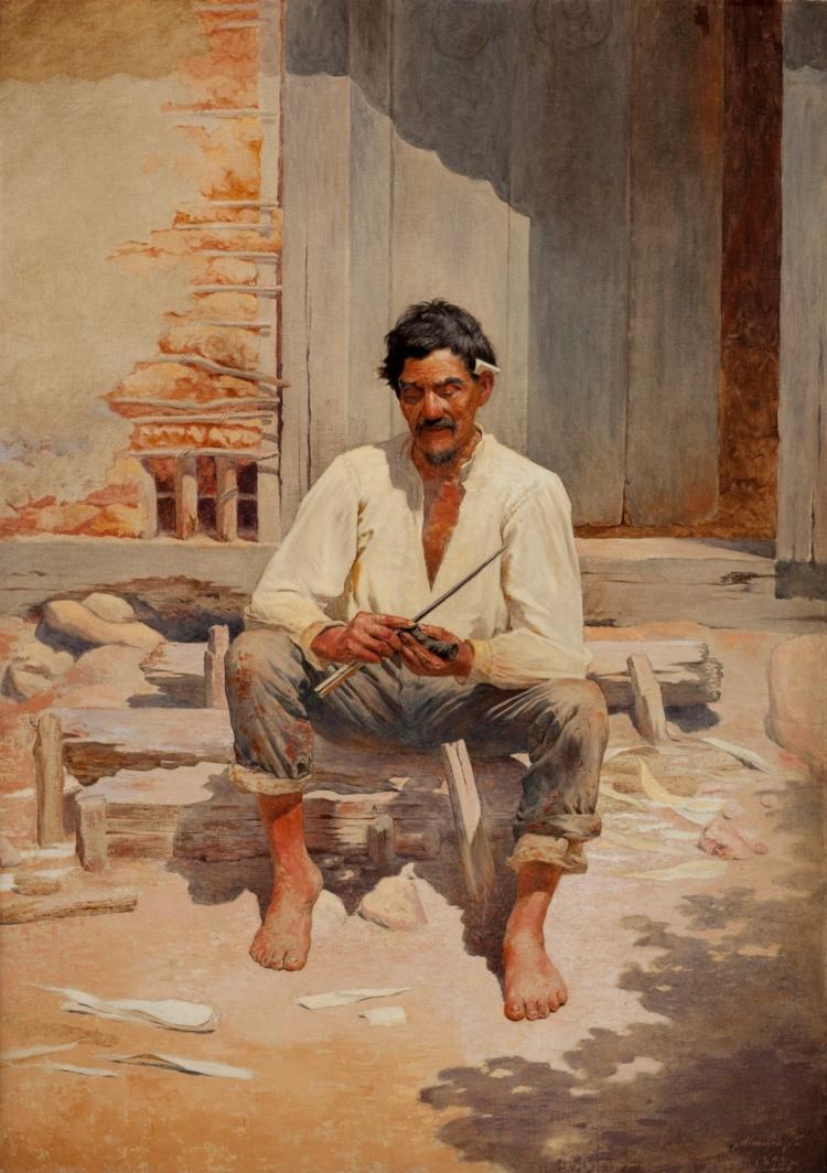 'Caipira Picando Fumo'  (1893)