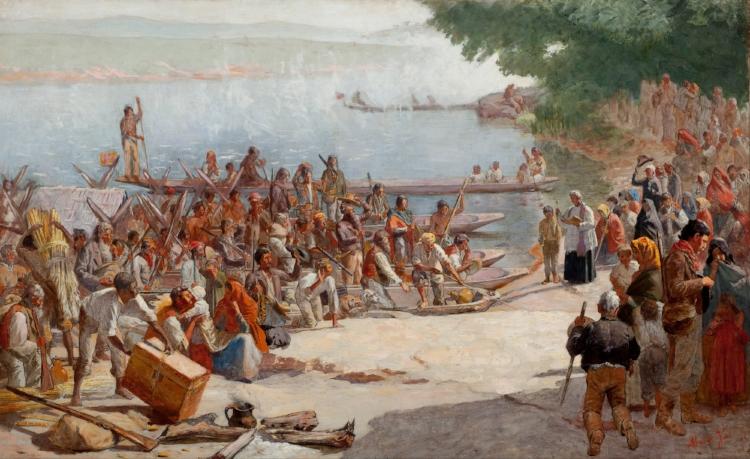 'A Partida da Monção'  (1897)