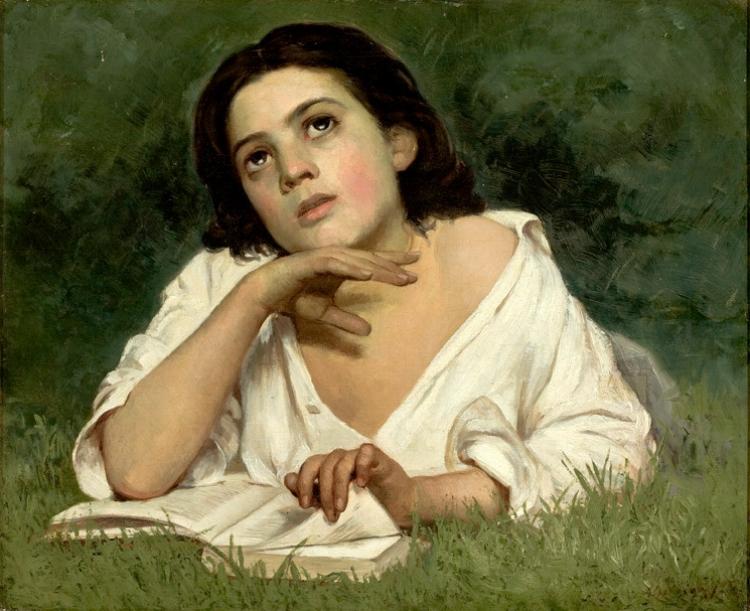 'Moça com Livro'  (1879)
