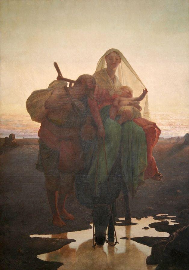 'Fuga para o Egito'  (1881)