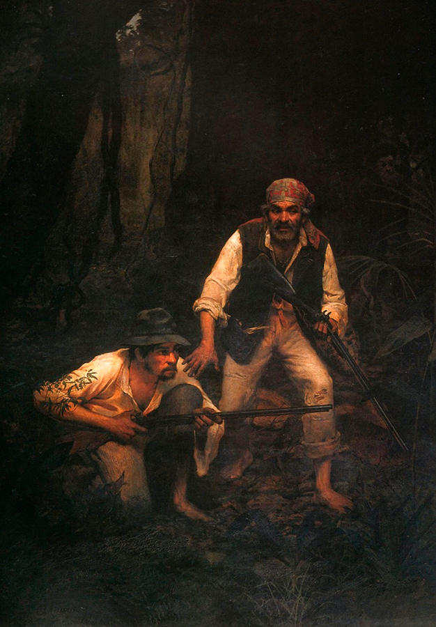 'Caipiras Negaceando'  (1888)