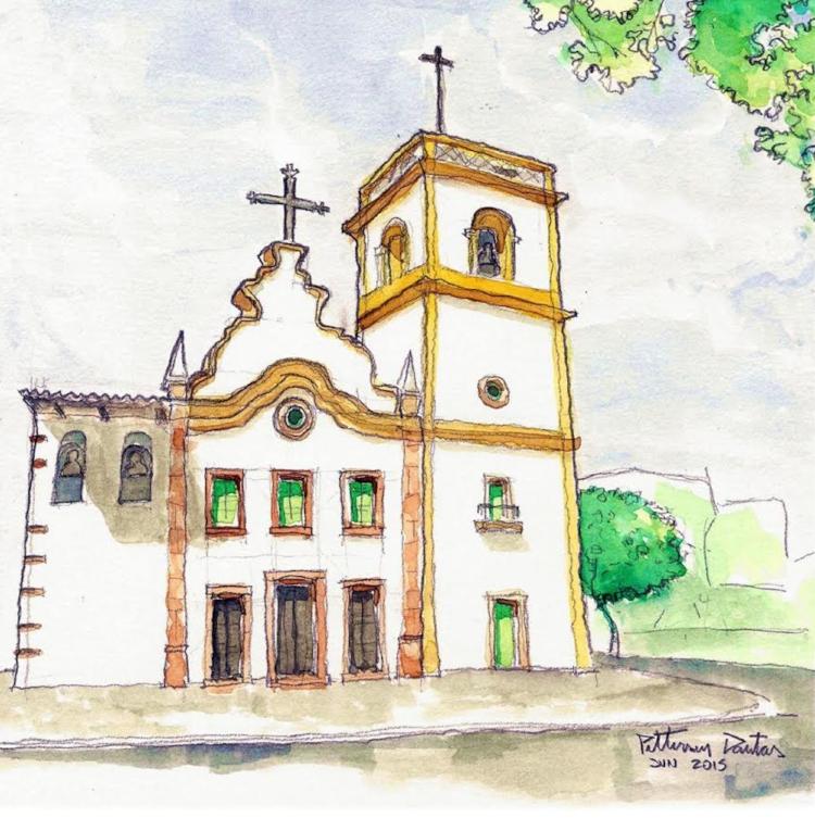 Desenhos de artistas diferentes para a Igreja Matriz de Nossa Senhora da Apresentação, em Natal (RN)