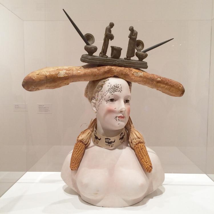 Outra escultura de Dalí, que faz parte do acervo do Museu Botero, em Bogotá, na Colômbia