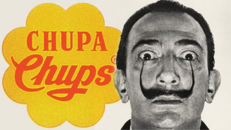Foi Dalí que projetou a identidade visual da empresa espanhola Chupa Chups