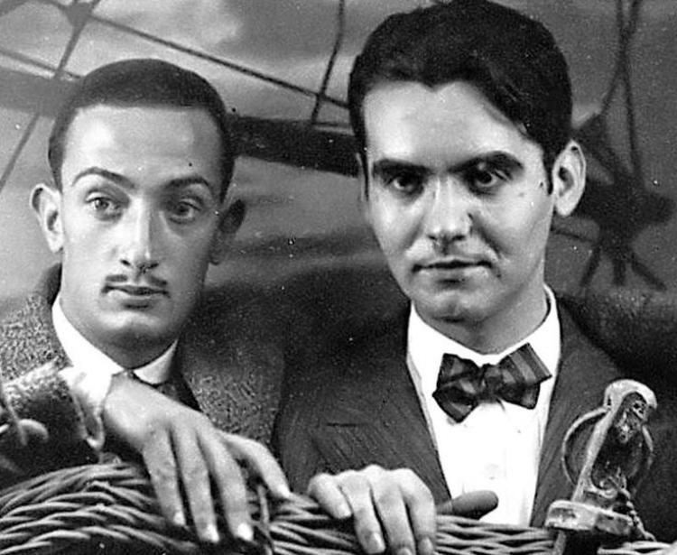 Os  ~amigos~  Salvador Dalí e Federico García Lorca