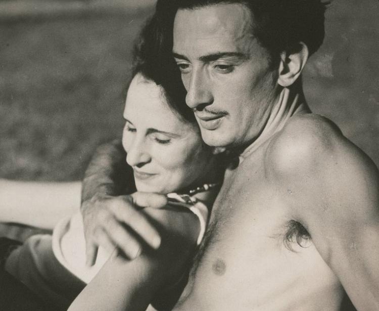 Dalí e sua esposa, Gala Éluard