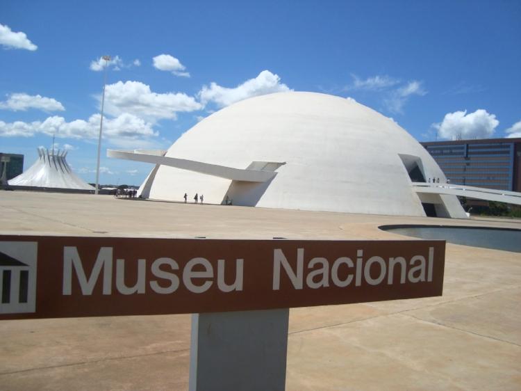 Museu Nacional da República, em Brasília-DF