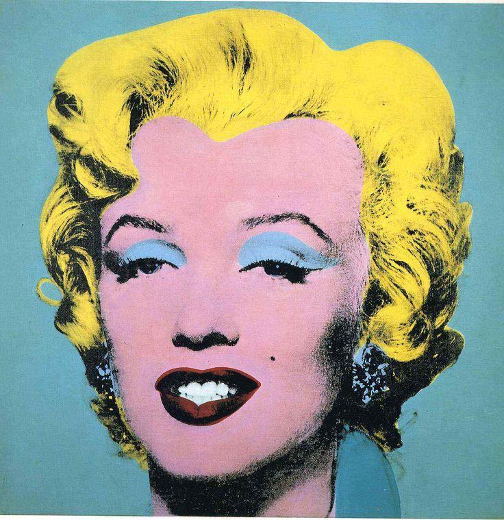 Uma das pinturas de Marilyn Monroe, assinadas por Andy Warhol