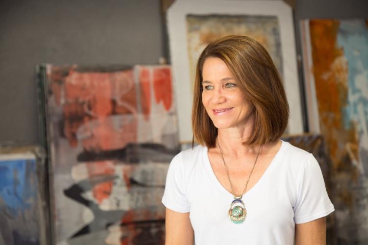 A artista visual Patrícia Melro