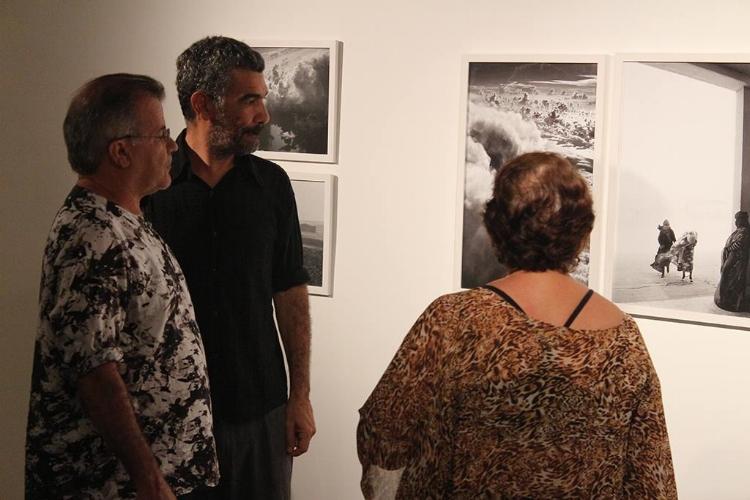 A exposição está em cartaz na galeria RV Cultura e Arte