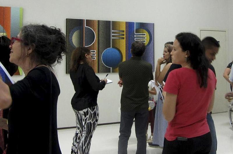 A mostra ocupa a Sala Sesc de Exposições
