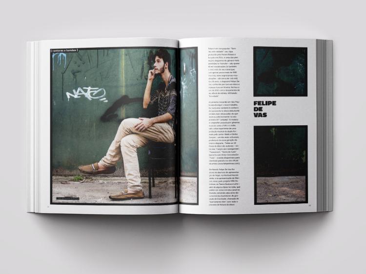 Páginas internas do livro  'Graciliano Arte'