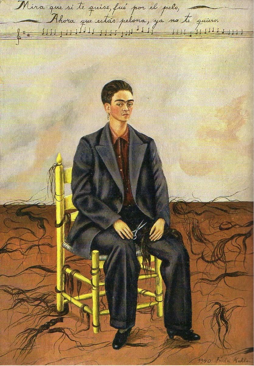 8 - 'Autorretrato com cabelo cortado' (1940)