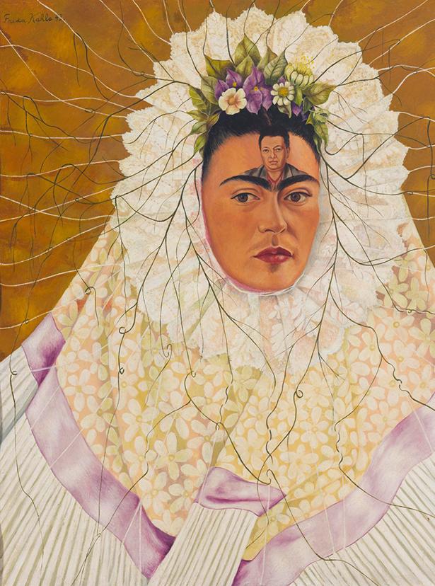 13 - 'Autorretrato com Tehuana' (1943)