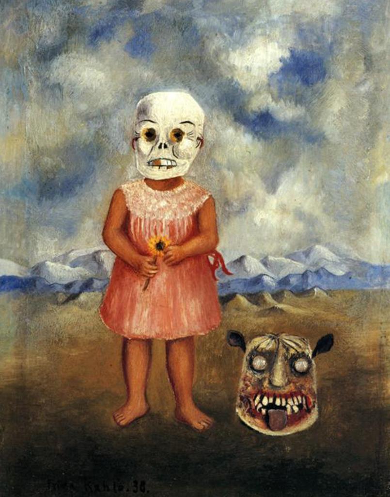 23 - 'Garota com a Máscara da Morte (Ela brinca sozinha)' 1938
