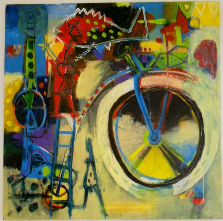 As cores do trabalho de Rosivaldo Reis