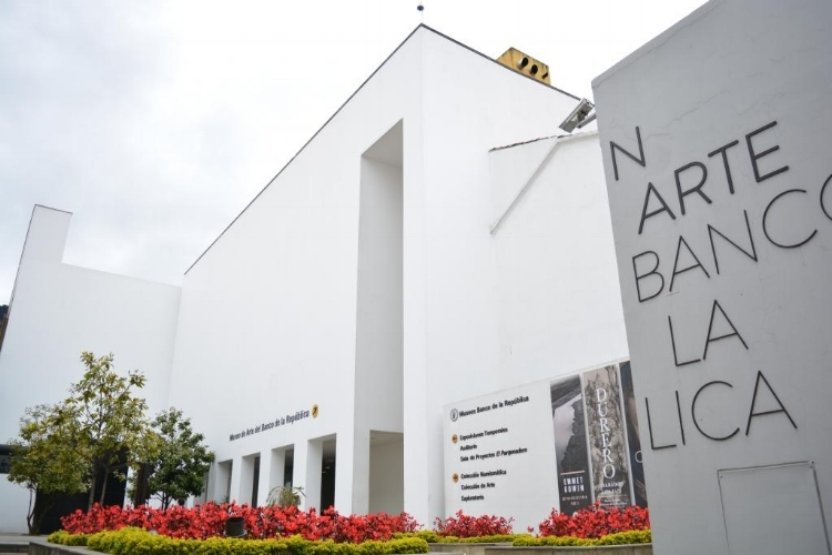 A sede  do MAMU, integrante do Museu Banco de La República