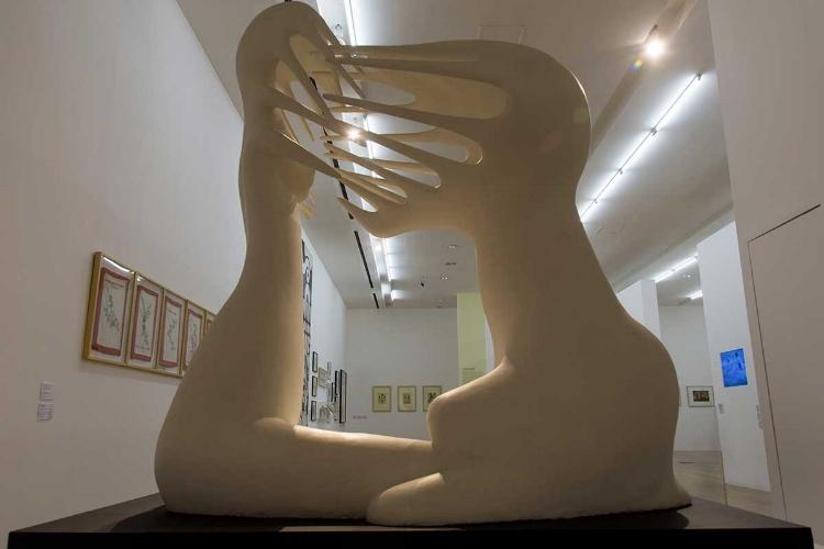 O Malba possui um acervo diversificado de arte latino-americana