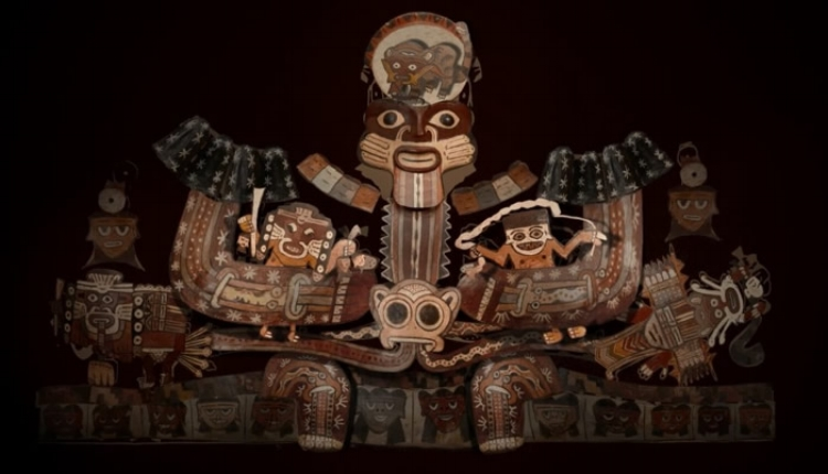 Obras em cerâmica da cultura Nazca