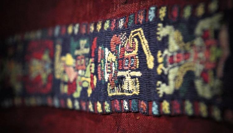 Peça em tecido da cultura Nazca
