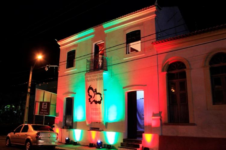 Fachada do Museu Café Filho, reaberto com exposição de Marek Mann