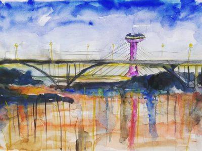 A ponte estaiada