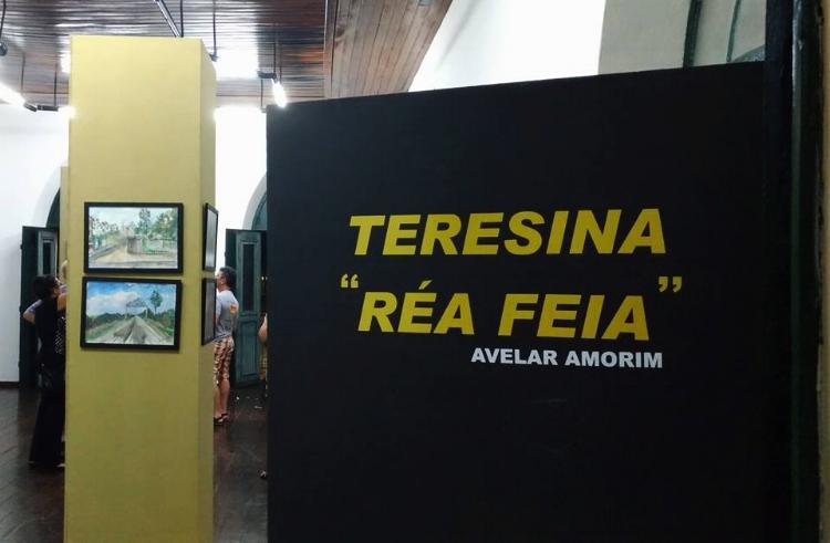 Entrada da exposição na Casa da Cultura de Teresina