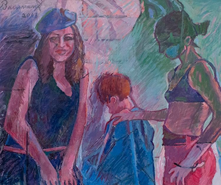 Apesar de ser conhecido pelo trabalho em cerâmica, Brennand também produz pinturas em tela