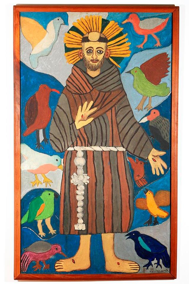 As tradições populares do Nordeste fazem parte do universo imagético do artista
