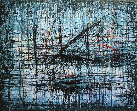 O artista, que começou com pinturas figurativas de cunho social, experimentou outras vertentes ao longo de sua trajetória