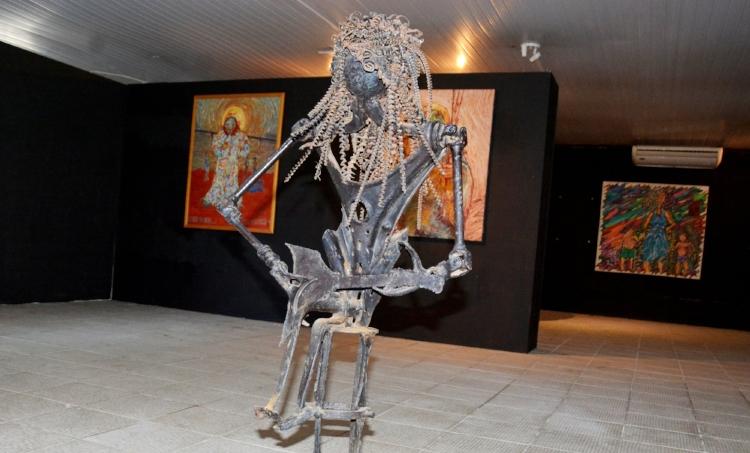 Com a exposição Acervos, a prefeitura de São Luís exibe ao público a coleção artística pública adquirida pelo município ao longo de 30 anos. Fotografia: Lauro Vasconcelos