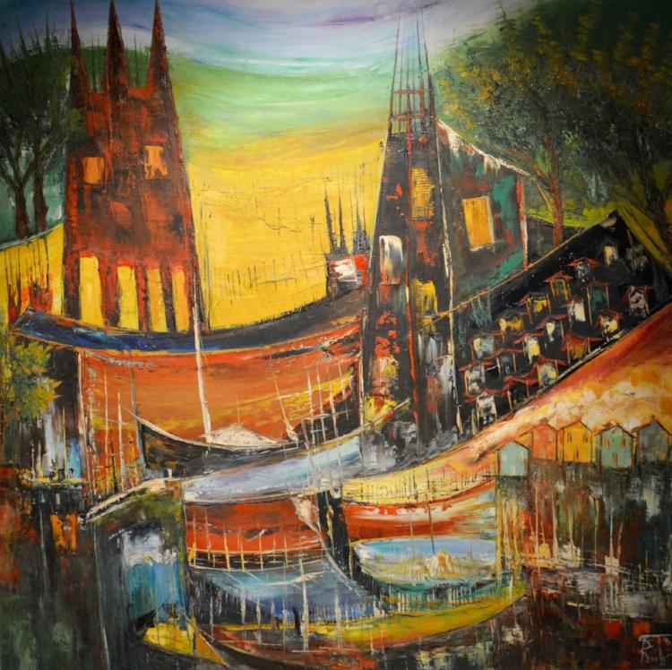 A cidade de São Luís sob diferentes estilos e técnicas de pintura