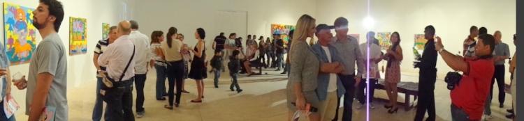 Abertura da galeria e da exposição em homenagem ao artista  naïf  paraibano Alexandre Filho
