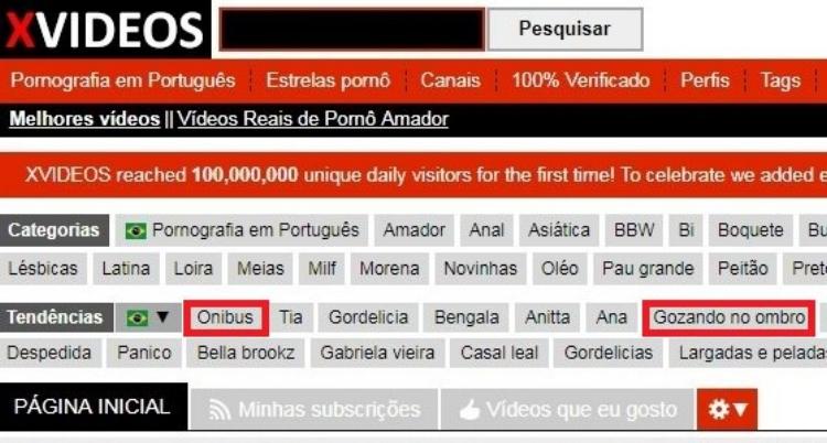As tags  'ônibus'  e  'gozando no ombro'  foram algumas das palavras-chave mais buscadas no site de conteúdo pornográfico X-Videos, logo após o caso de abuso sexual dentro de um ônibus em São Paulo. Isso revela muito sobre a nossa sociedade
