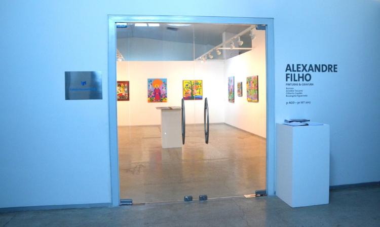 A Galeria de Arte Alexandre Filho foi inaugurada no prédio da Usina Cultural Energisa, em João Pessoa-PB, com uma exposição dedicada ao próprio artista homenageado