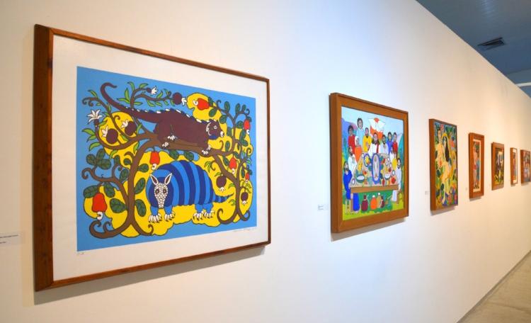 A mostra 'Alexandre Filho - Pinturas e Gravura'apresenta 17 obras no total