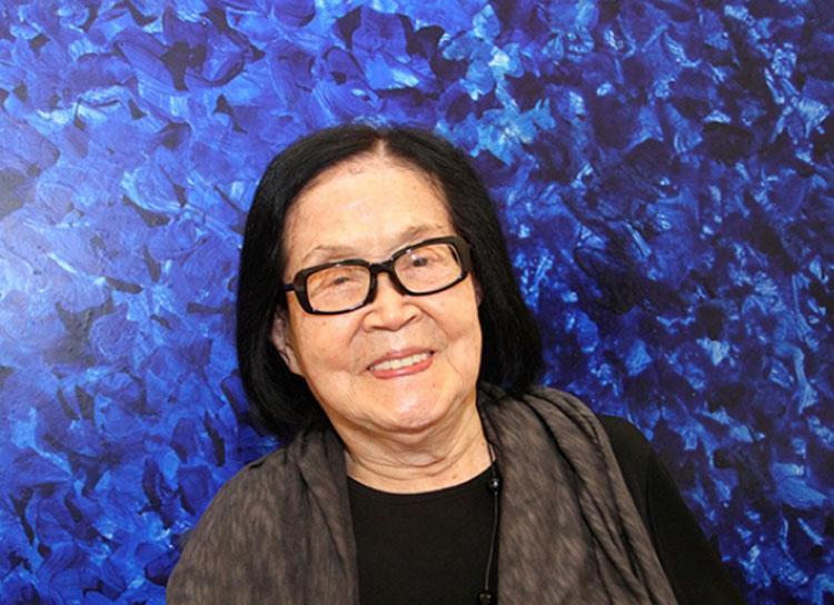 A artista Tomie Ohtake viveu 101 anos e 60 deles foram dedicados à arte