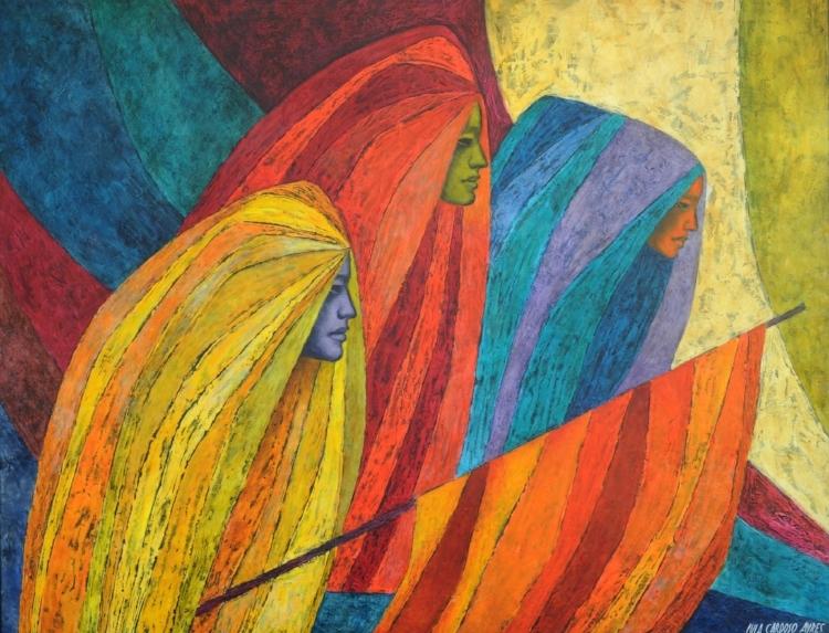 Obra de Lula Cardoso Ayres exposta na retrospectiva do artista
