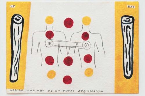 O artista seguiu o caminho da arte contemporânea em sua breve, mas profícua trajetória